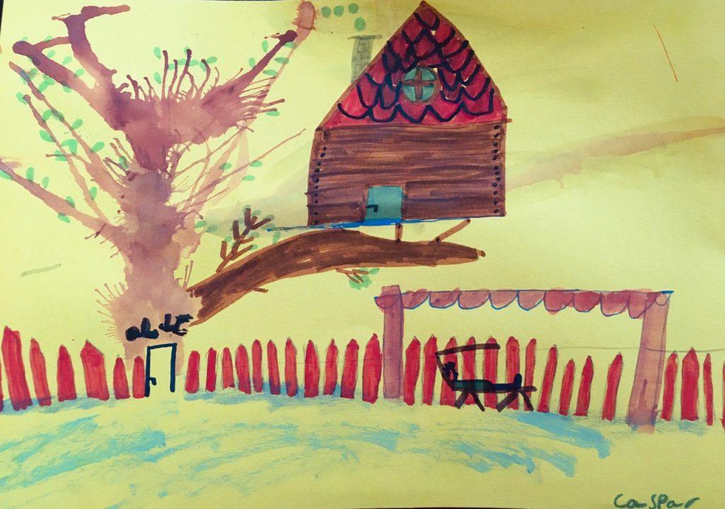 Caspar Kiwi, Ein Traum vom Baumhaus